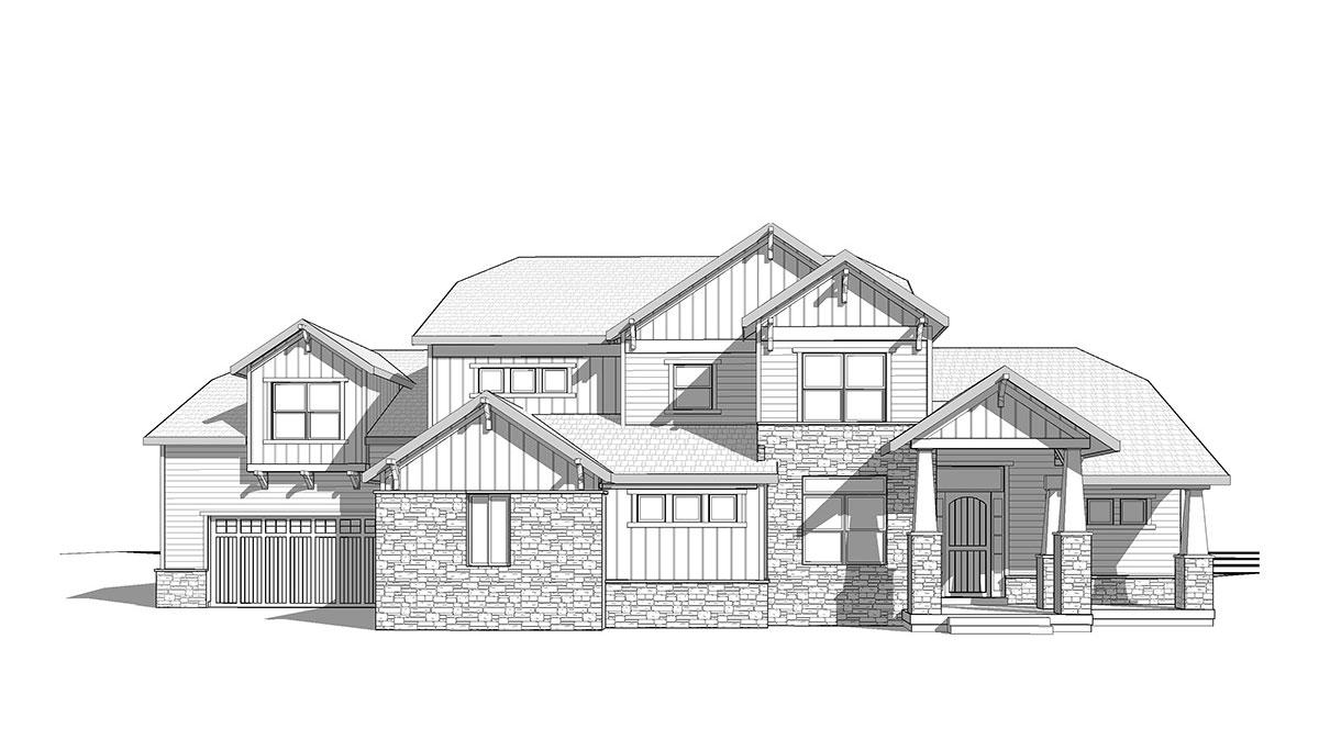 Featured Floor Plan The Arcadia Ironwood Custom Builders